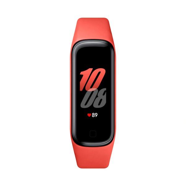 Samsung galaxy fit 2 rojo pulsera de actividad gps frecuencia sueño sumergible 5atm