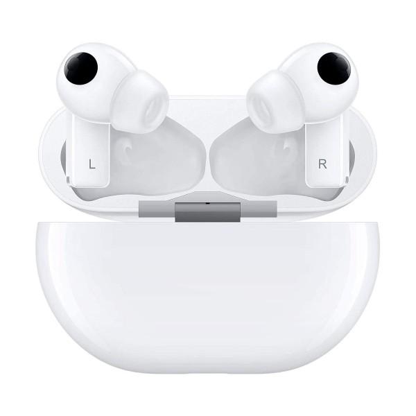 Huawei freebuds pro blanco cerámico auriculares in-ear bluetooth cancelación de ruido estuche batería