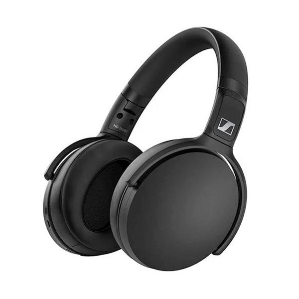 Sennheiser hd 350bt negro auriculares over-ear bluetooth con carga rápida