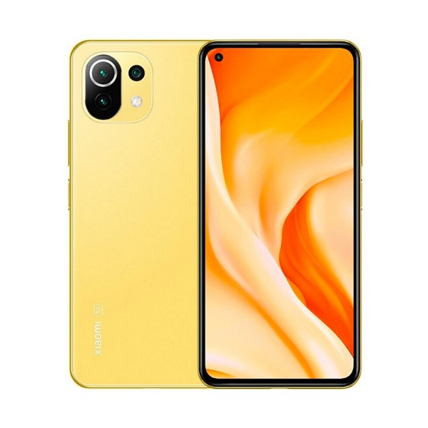 """Xiaomi mi 11 lite 5g amarillo (citrus yellow) 8+128gb / 6.55"""" amoled 90hz / dual sim"""